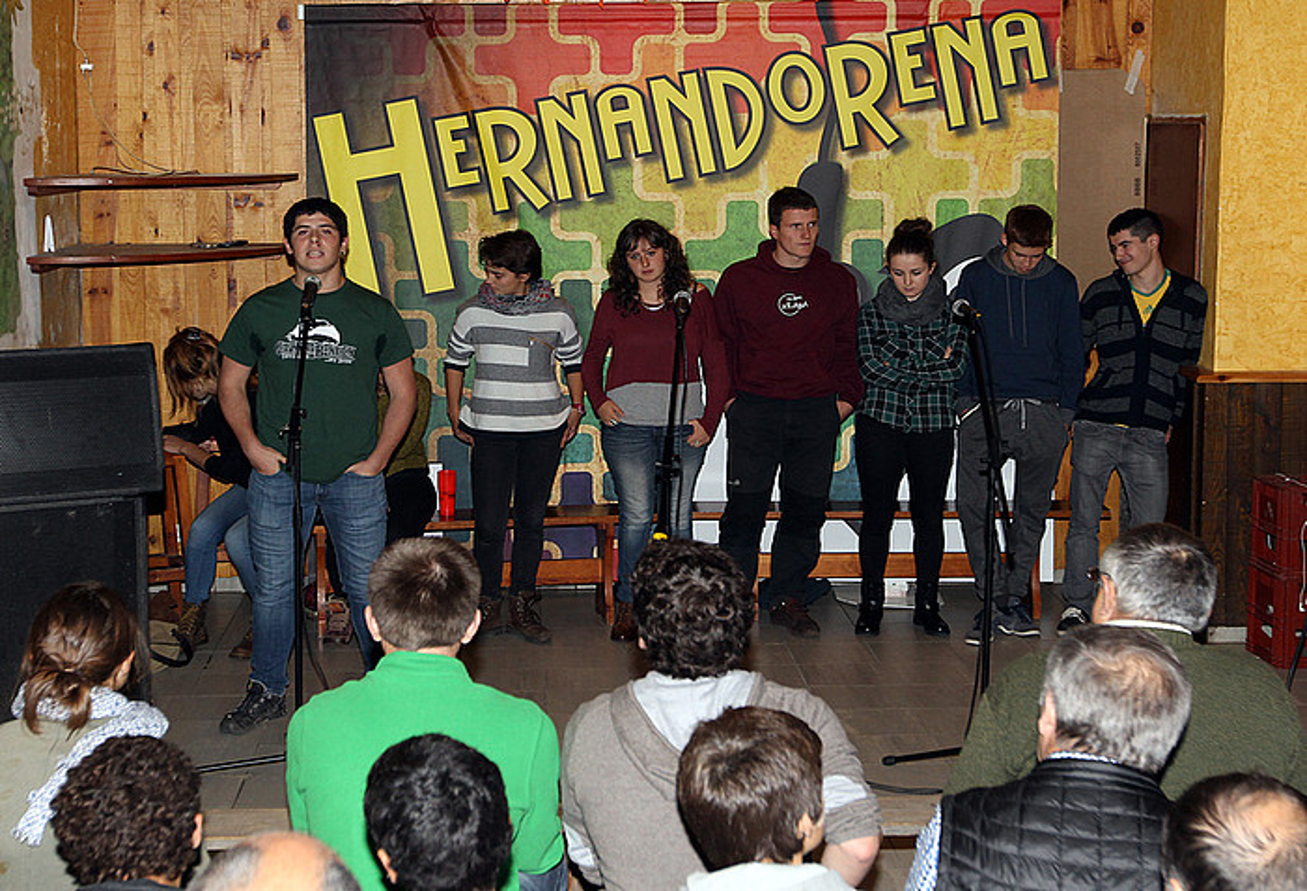 2015eko Hernandorena sariketaren finala, Baigorriko Bixentaenian.