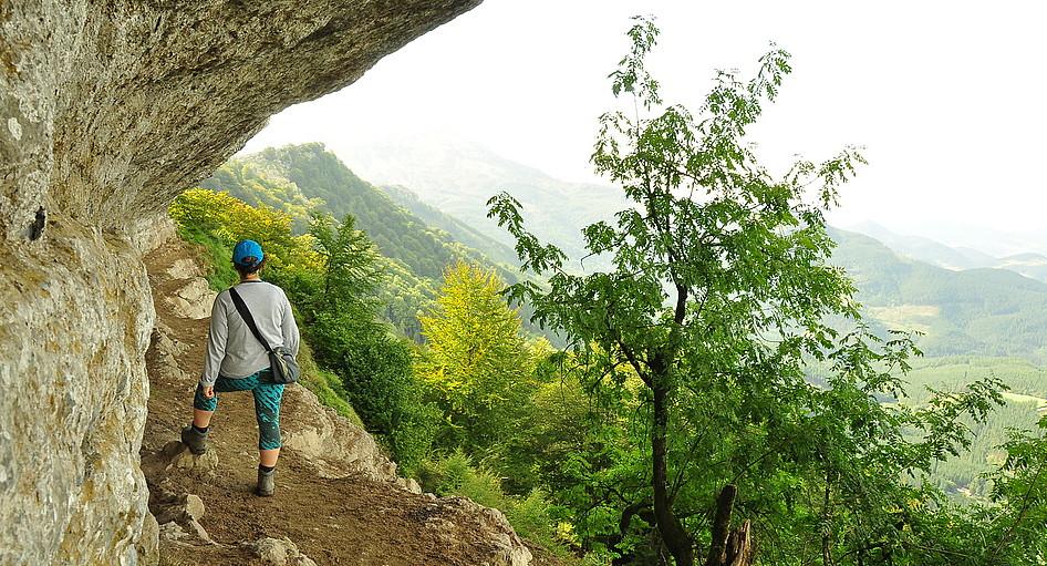 Atxuriko haizpea Gorbeiako natur parkeko zokorik ederrenetako bat da. ©JOSEAN GIL-GARCIA