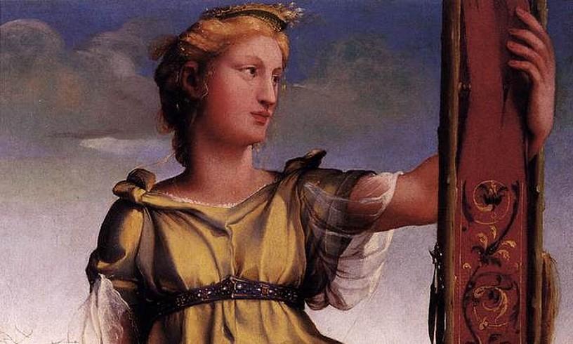 Penelope, Domenico Beccafumiren izen bereko margolanean.