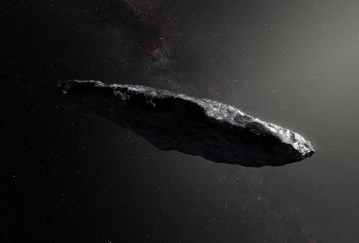 'Oumuamuaren irudikapen artistikoa.