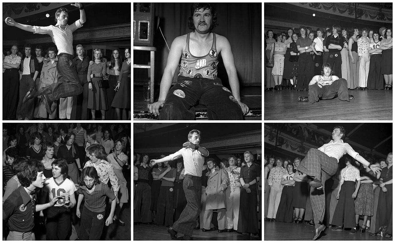 <i>The Wigan Casino</i>, northern soulari buruzko Tony Palmerren dokumental lana, 1975ekoa. ©DOCK OF THE BAY