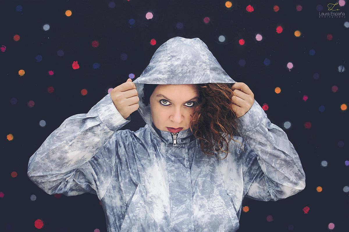 Elena Caballero <em>La Basu</em> rap abeslaria pozik dago diskoak izan duen harrerarekin. ©LAURA ESPAÑA
