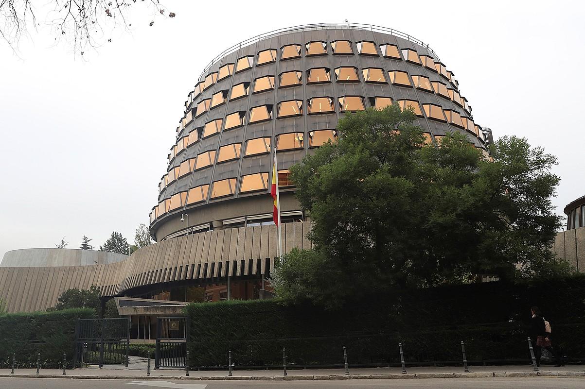 Espainiako Auzitegi Konstituzionalaren egoitza, Madrilen. ©BALLESTEROS / EFE