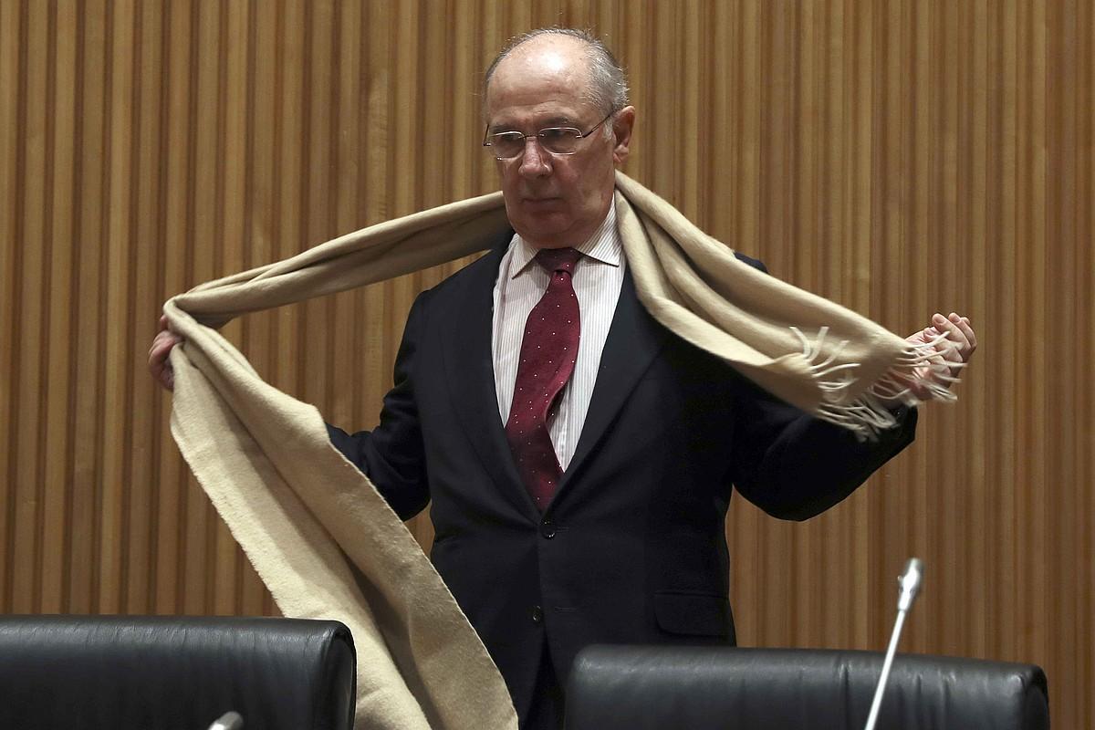Rodrigo Rato, asteartean, Espainiako Kongresuan. ©J.J. GUILLEN / EFE
