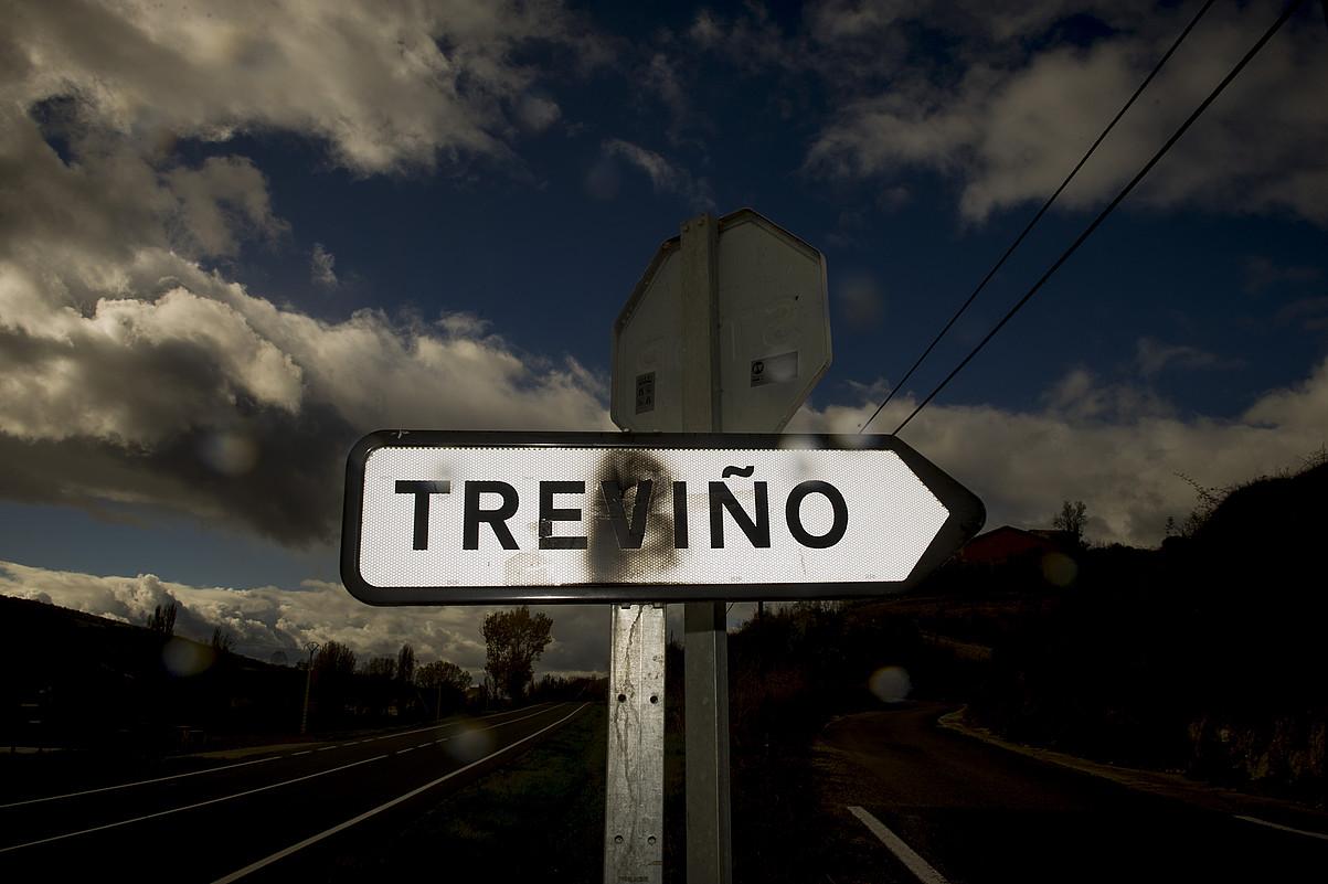 Burgosko administrazioaren esku dago Trebiñu, nahiz eta Arabako erdialdean egon. ©RAUL BO GAJO / ARGAZKI PRESS