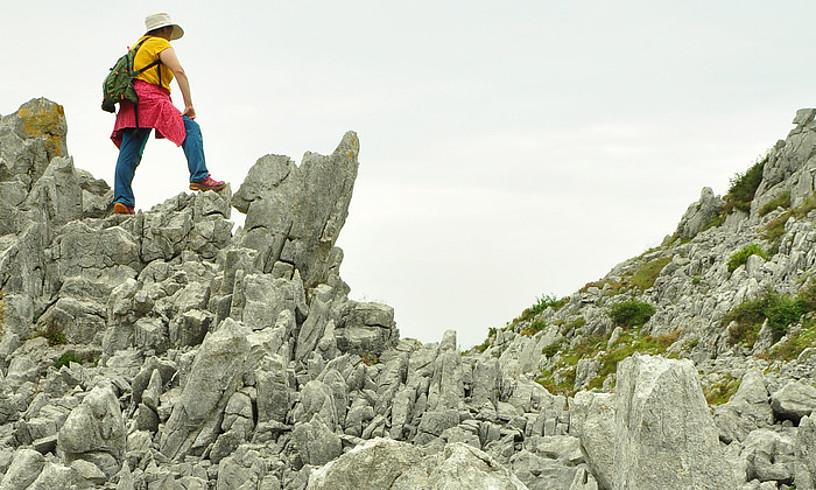 Raneron, kareharriaren higadura nabarmena ikusiko dugu. ©JOSEAN GIL-GARCIA