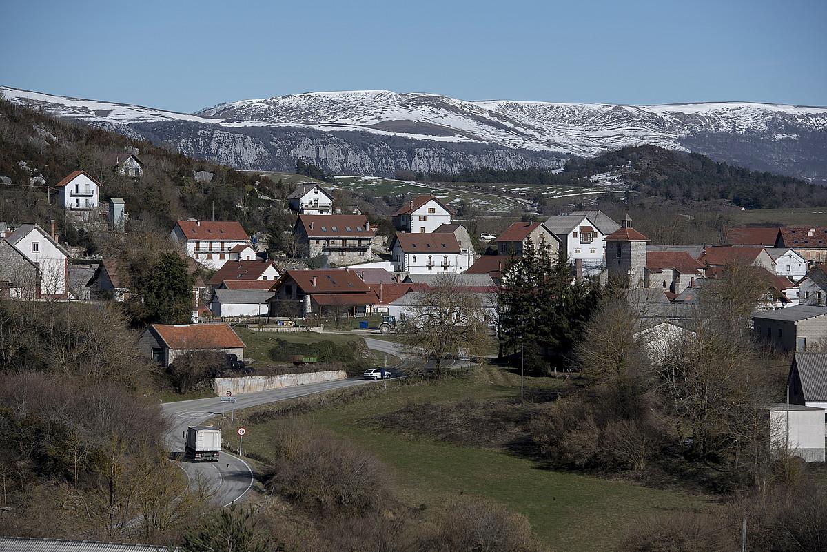 <b>Abaurregaina. </b>Nafarroako eta Euskal Herriko herririk garaiena da: 1-040metrora dago.