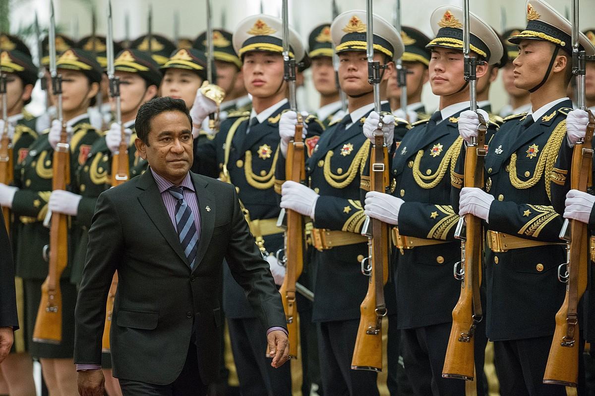 Yameen presidentea.