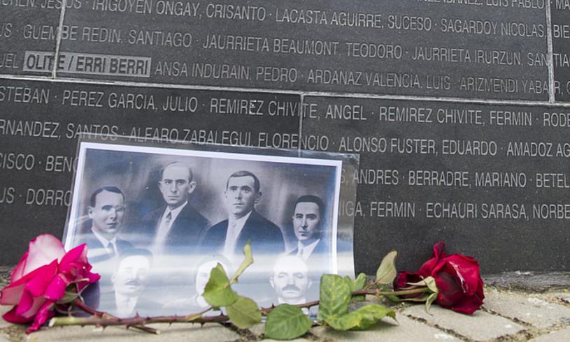 Nafarroako Memoria Historikoaren Eguneko ekitaldia, Sartagudako Memoriaren Parkean.