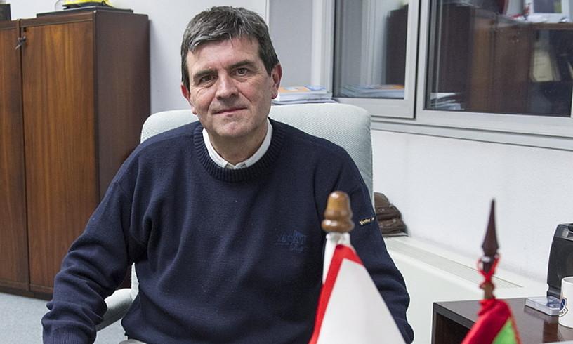 Josu Zubiaga Segurtasun sailburuordea. ©JUANAN RUIZ / ARGAZKI PRESS