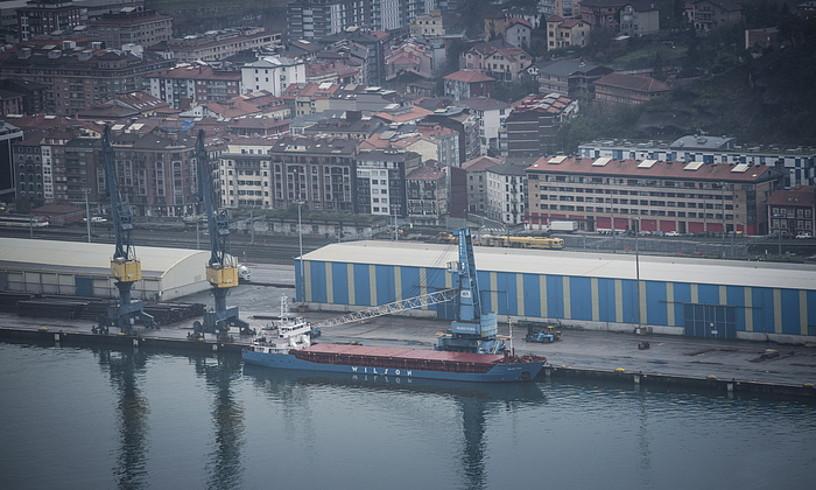 Pasaiako portua, joan den astean. ©JON URBE / ARGAZKI PRESS