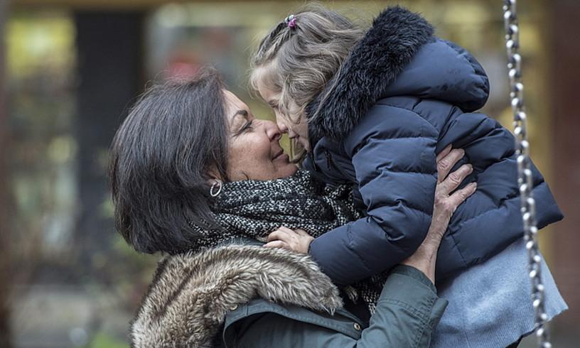 Marian Zubiaurrek 49 urte zituela eduki zuen Carla. Haurdunaldian zein ondoren dena primeran joan zaio, eta zorteko sentitzen da. ©GORKA RUBIO / ARGAZKI PRESS