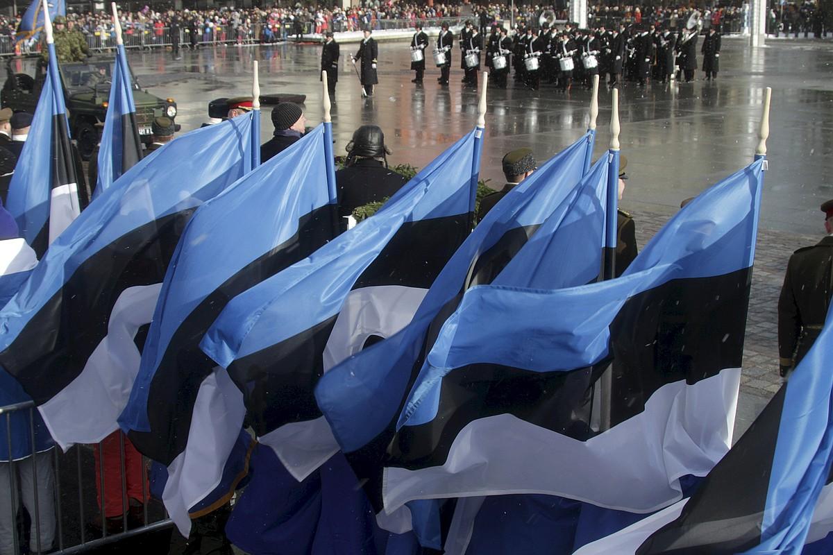 Estoniako independentziaren lehen aldarrikapenaren mendeurrena ospatu zuten otsailaren 24an.