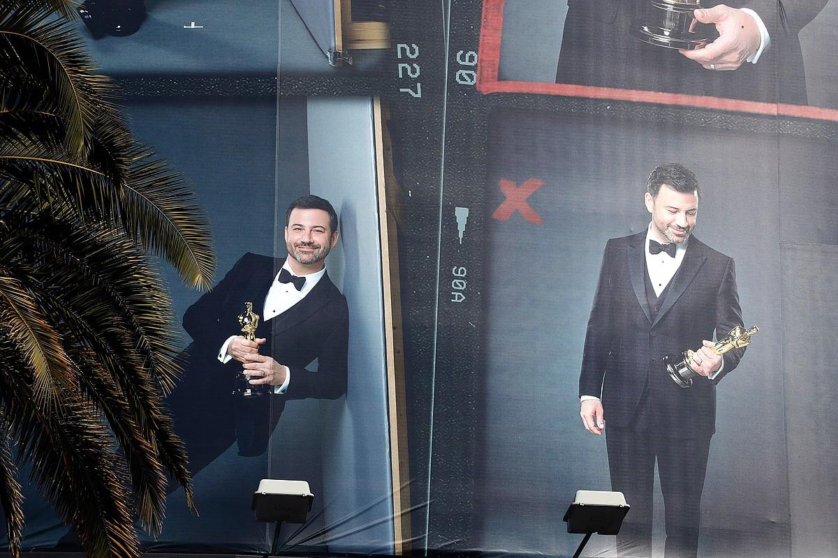 Jimmy Kimmel umoregilea izango da aurten ere ekitaldiaren aurkezlea. ©MIKE NELSON / EFE