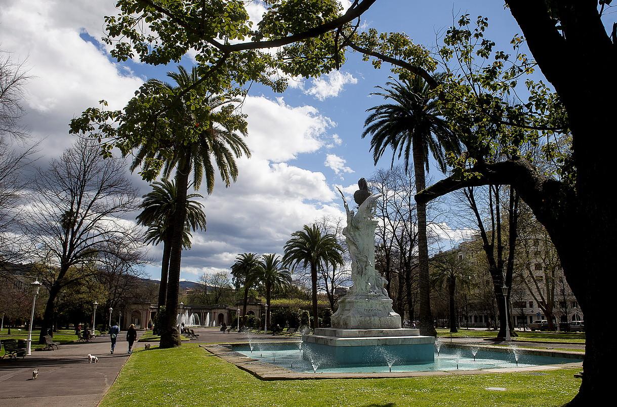 Doña Casilda Iturrizar parkea, Bilbo. ©LUIS JAUREGIALTZO / ARGAZKI PRESS