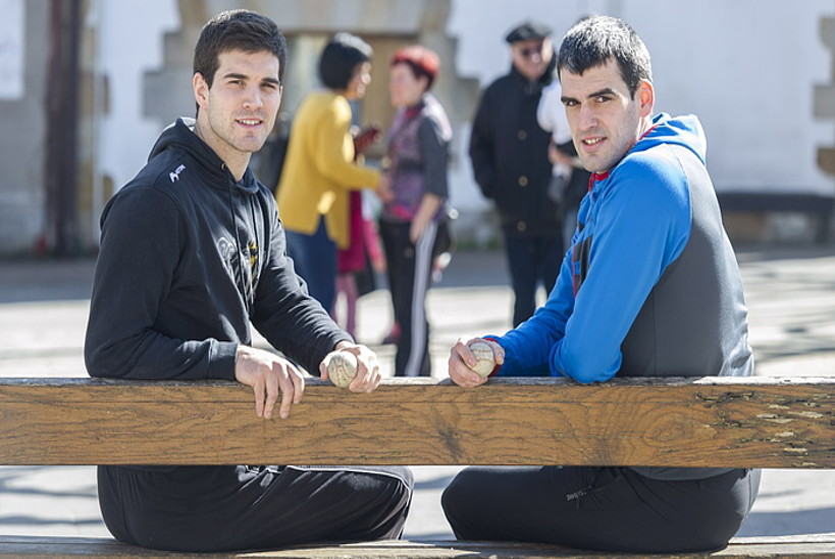 Jose Javier Zabaleta eta Joseba Ezkurdia, Arbizun. ©JUANAN RUIZ / FOKU