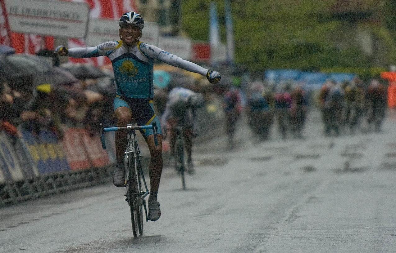 Contador, Legazpin irabazten. / ANDONI CANELLADA / FOKU