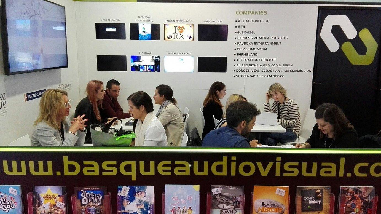Euskal Herriko ekoizleak bileraz bilera dabiltza egunotan Cannesko MIPTV nazioarteko azokan.