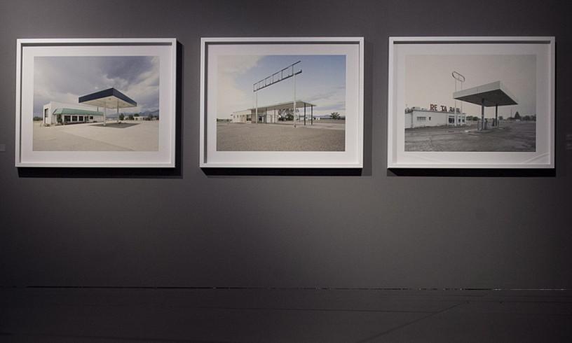 Iñaki Bergeraren argazkiak, Nafarroako Unibertsitateko museoan. ©IÑIGO URIZ / FOKU