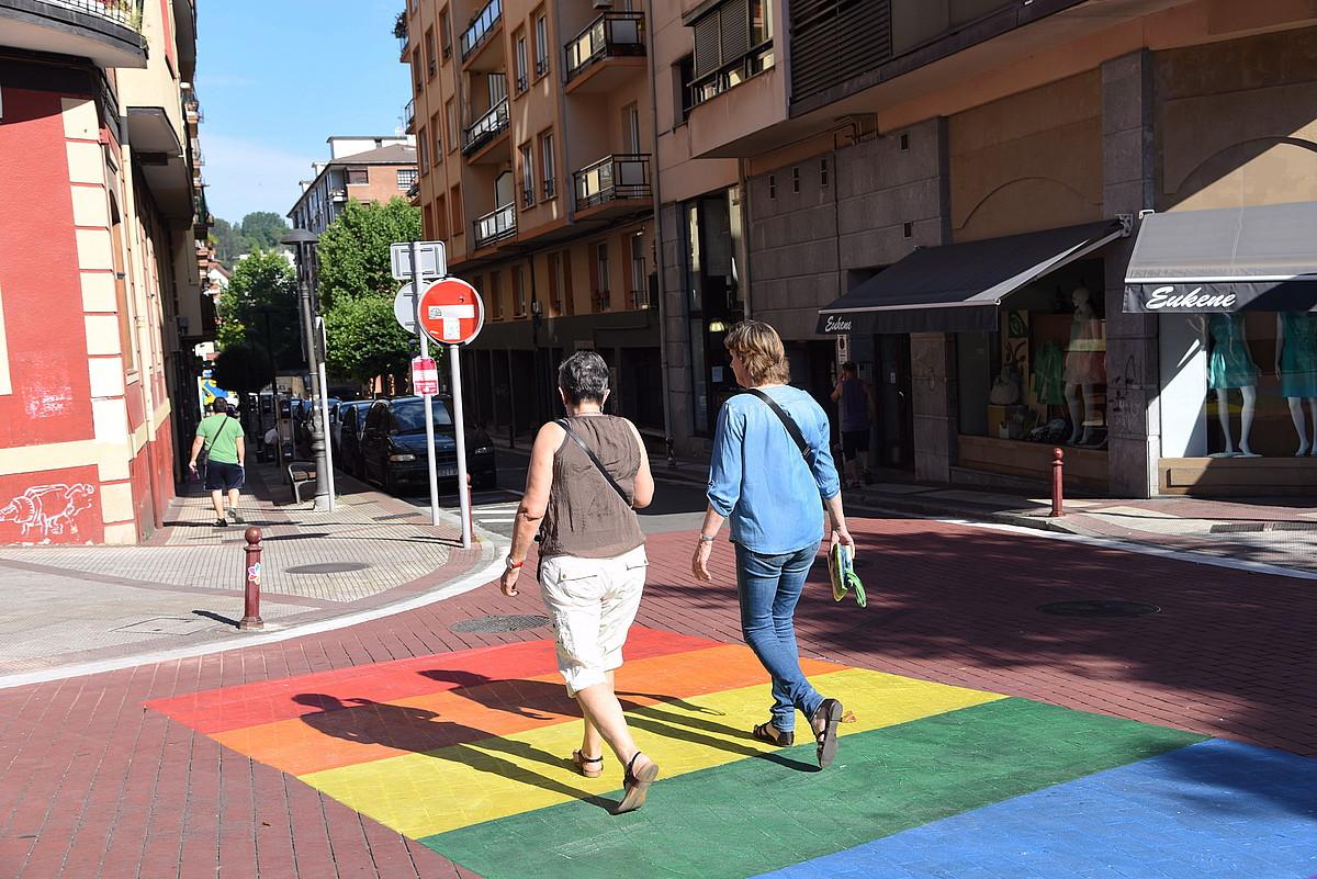 LGTBI kolektibokoa izatea heriotzaz zigortzen da oraindik hainbat lekutan. ©ANDONI CANELLADA / ARGAZKI PRESS
