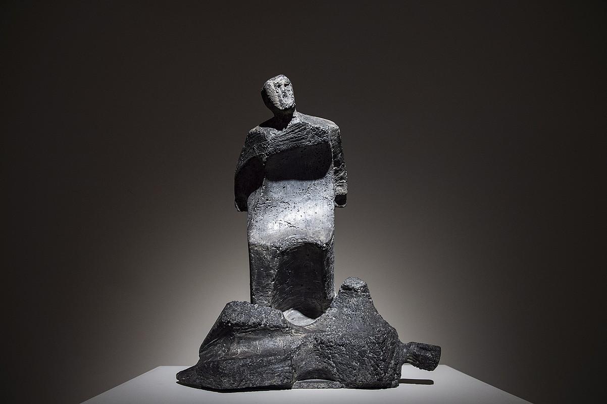 Jorge Oteiza artistak 1969an sortutako <em>Pietatea</em> lana da Bilboko Michel Mejuto galerian ikus daitezkeen piezetako bat. &copy;MARISOL RAMIREZ / FOKU