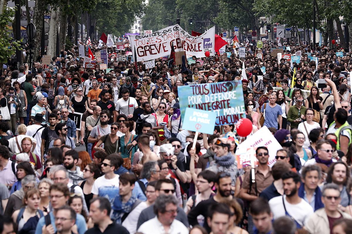 Manifestazioa. ©EFE