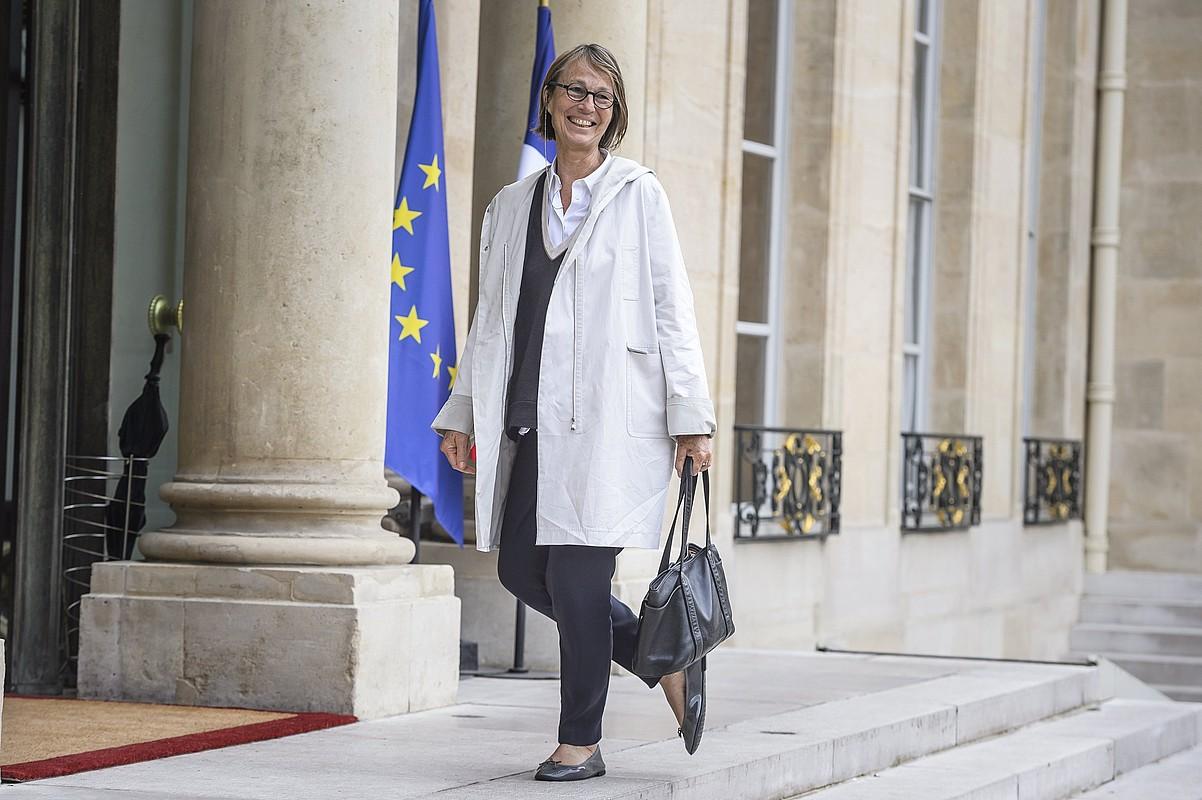 Françoyse Nyssen Frantziako Kultura ministroa, artxiboko irudi batean. ©CHRISTOPHE PETIT TESSON / EFE