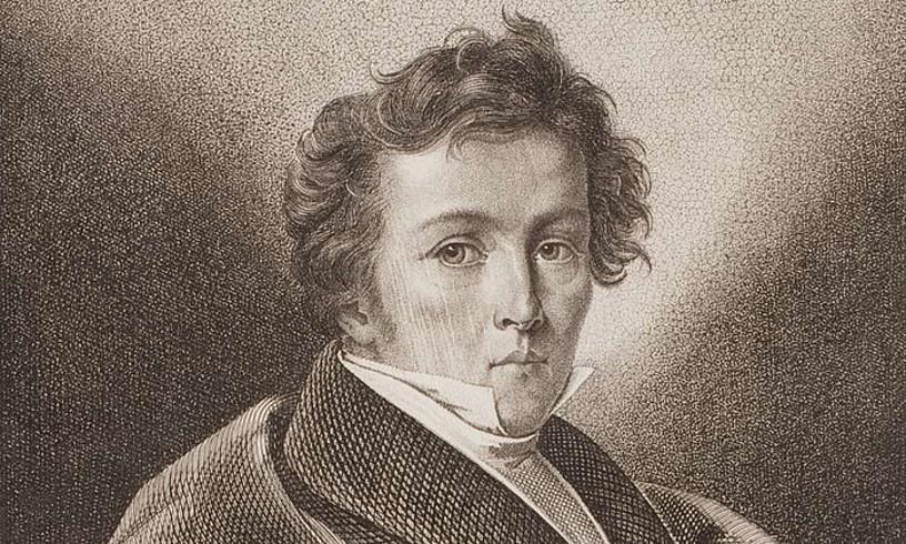 Wilhelm Mueller poetaren erretratua. ©BERRIA