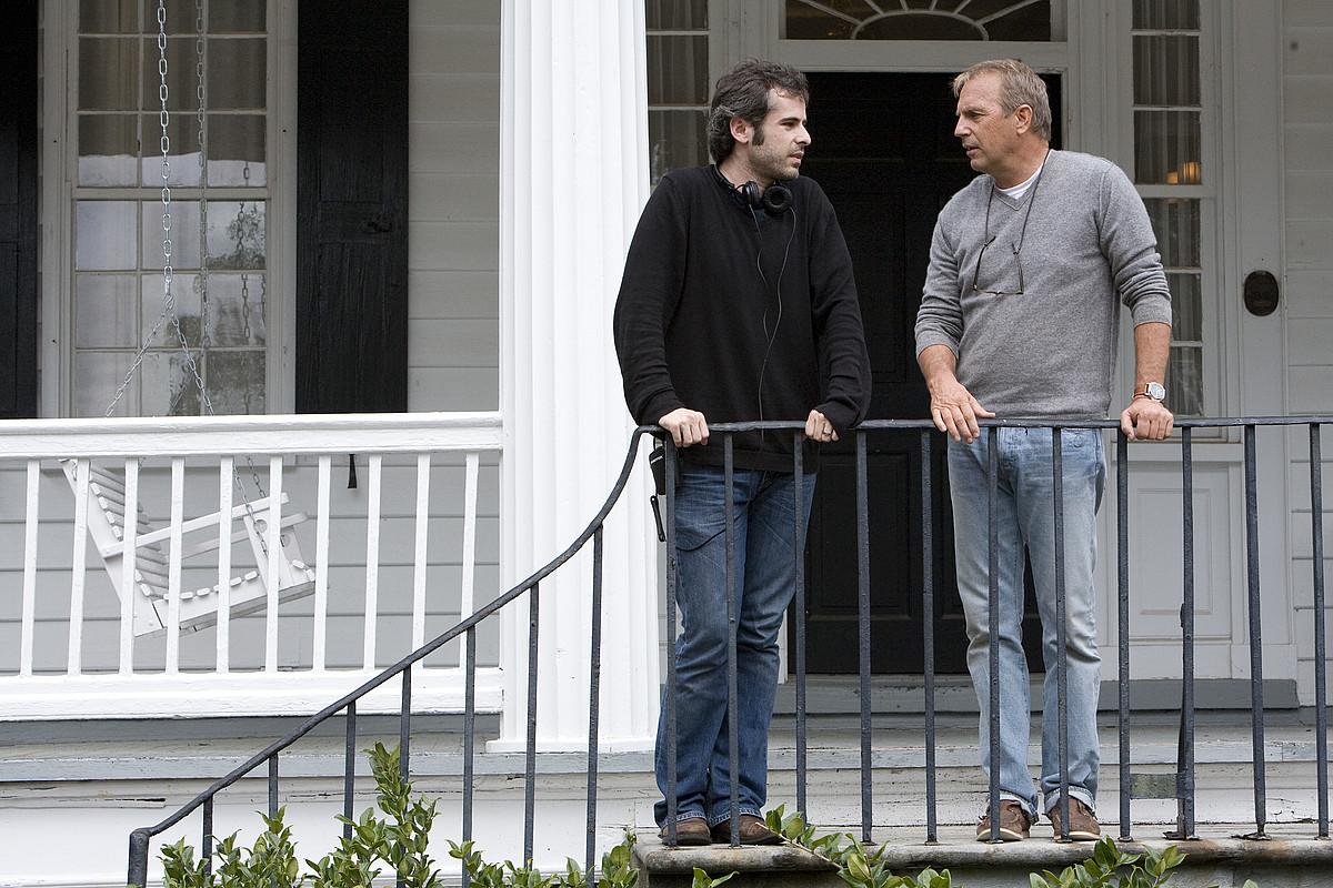 <b>Luiso Berdejo. </b>Kevin Costner aktorea zuzendu zuen <em>The New Daughter</em> filmean (2009). &copy;BERRIA