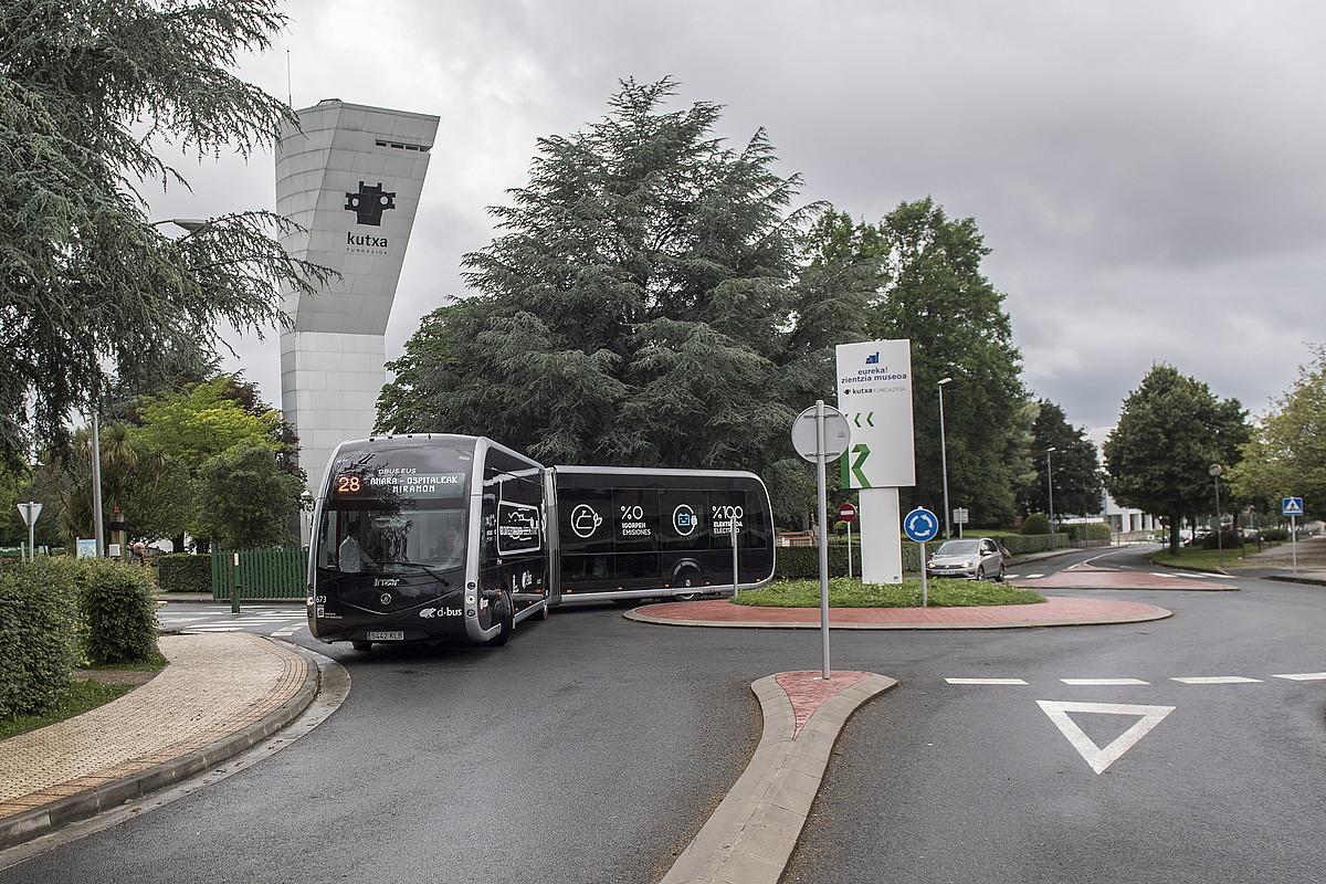 Autobusa, atzo.