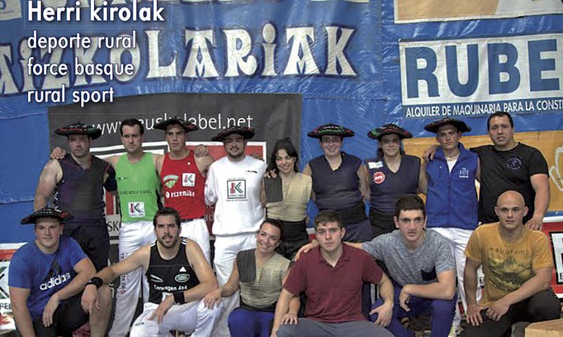 <em>Geure esport</em> aldizkariaren bigarren zenbakiko azala.