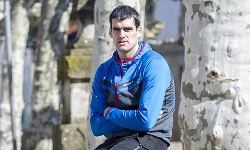 Joseba Ezkurdia, Arbizun, binakako txapelketako finalaren atarian. ©J.RUIZ / FOKU