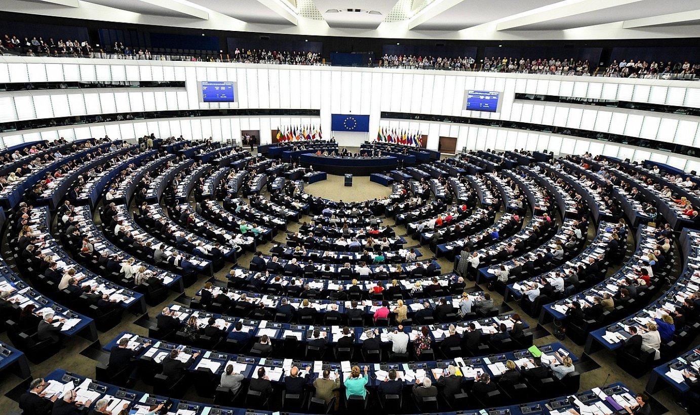 Europako Parlamentua, artxiboko irudi batean.