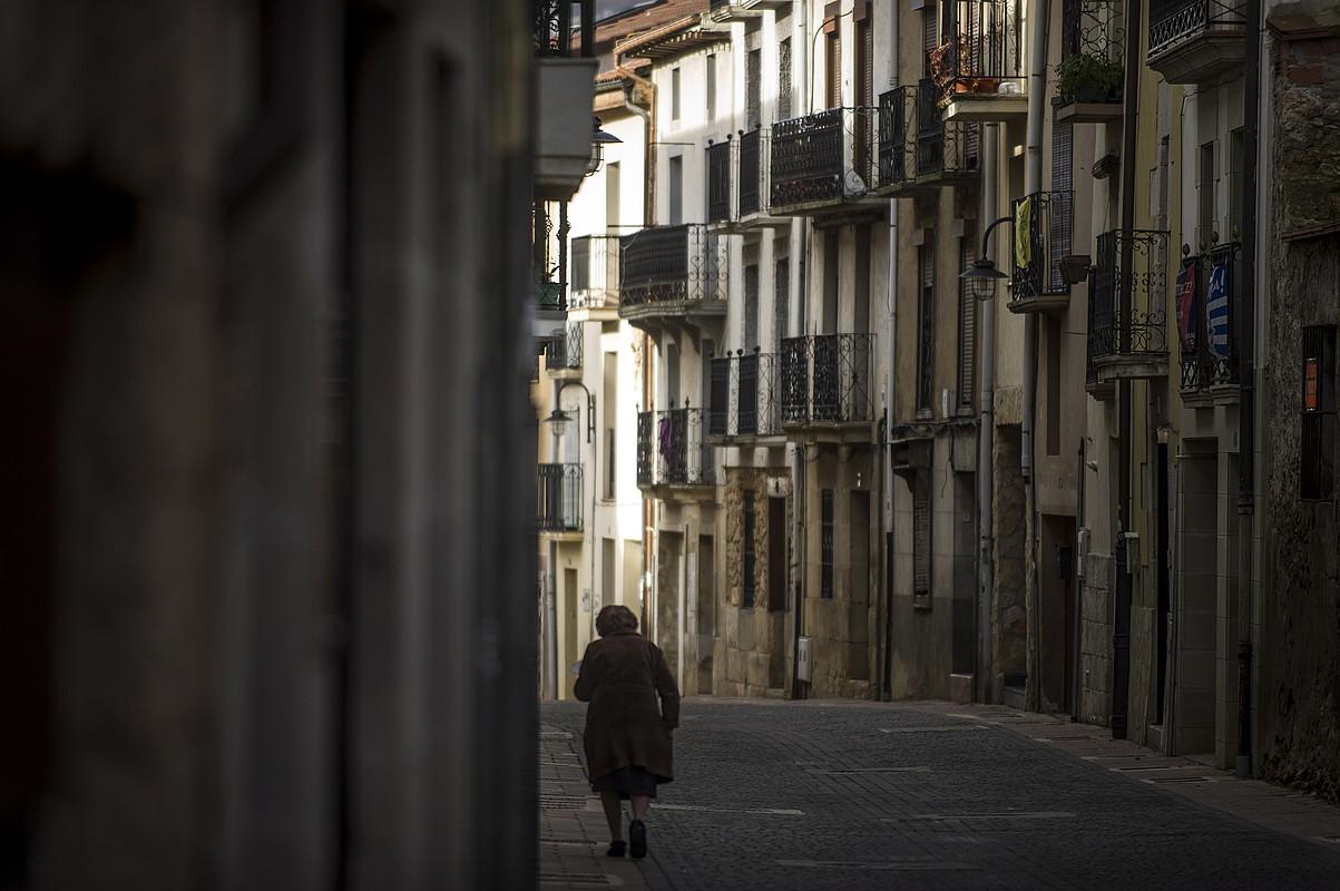Kanpezuko kaleak, artxiboko irudi batean. ©JAIZKI FONTANEDA / FOKU