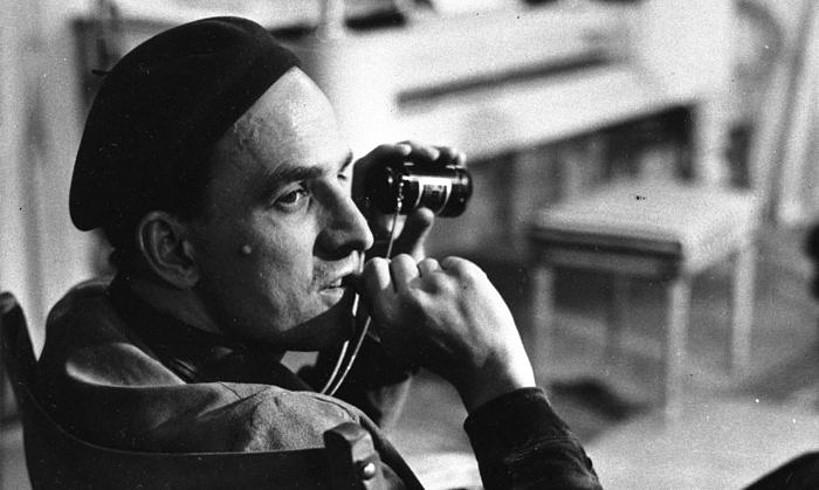 Ingmar Bergman zinema zuzendaria 1963ko argazki batean.