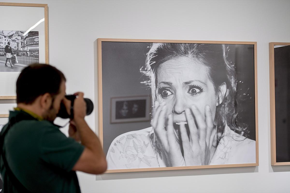 Carmen Sevilla aktorea, <i>Nadie oyó gritar</i> beldurrezko thrillerreko protagonista. ©JUAN CARLOS RUIZ / FOKU