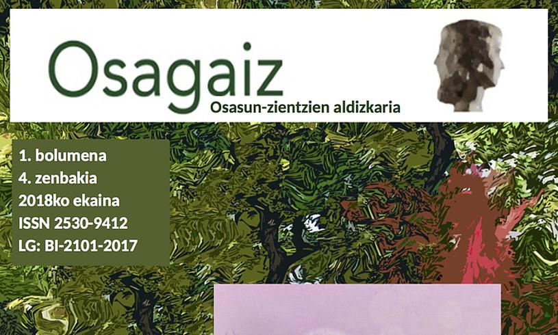 <i>Osagaiz</i> aldizkariaren aurtengo lehen zenbakia. PDF gisa zabaltzen dute. &copy;OSAGAIZ