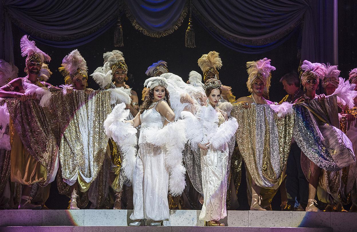 Opera. Gioachino Rossiniren <i>Italiarra Aljerren</i> obra ekoitzi du Musika Hamabostaldiak.  &copy;HAMABOSTALDIA / BERRIA