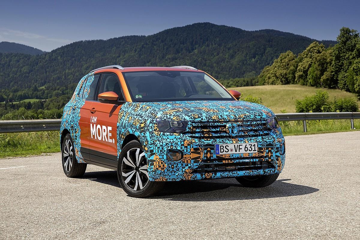 Uztailean iragarri zuen Volkswagenek T-Cross izango dela Landabengo bigarren modeloa. ©VW NAVARRA