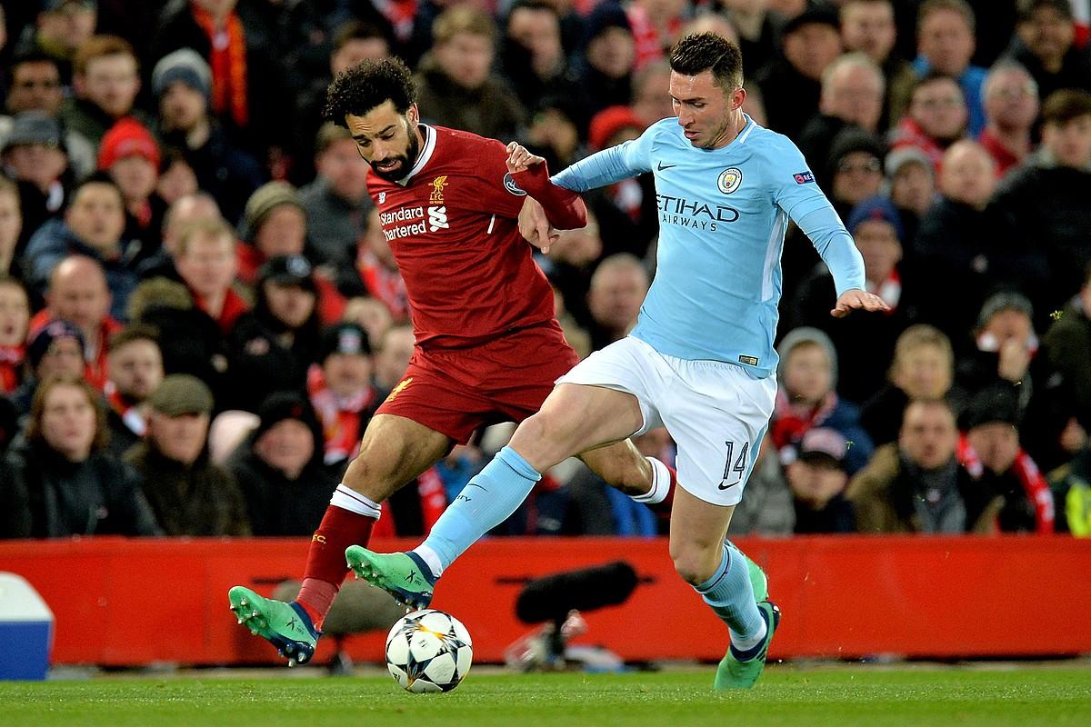 Aymeri Laporte, Manchester Cityrekin jokaturiko partida batean.