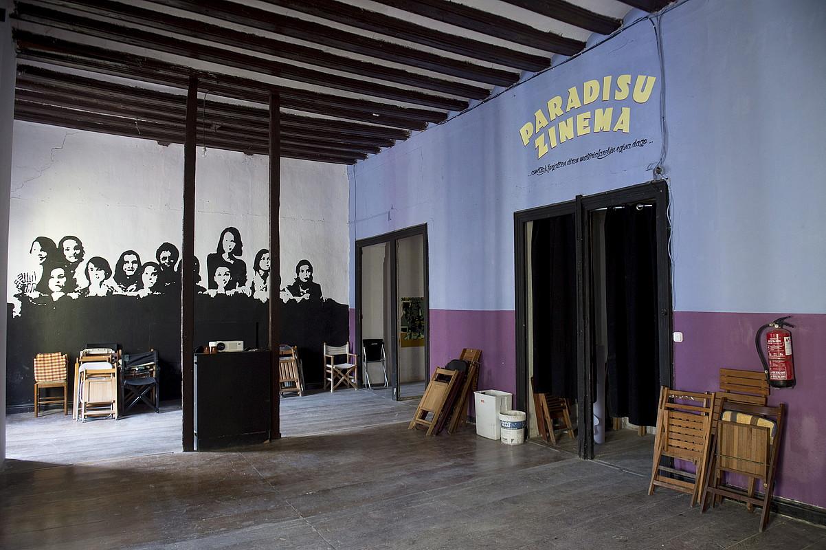 Maravillas gaztetxea, barrutik, artxiboko irudi batean. ©IÑIGO URIZ / FOKU