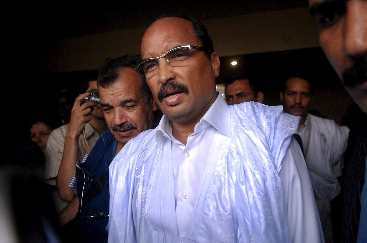 Mauritaniako presidentea kargua hartu berri, artxiboko irudi batean. ©STR / EFE