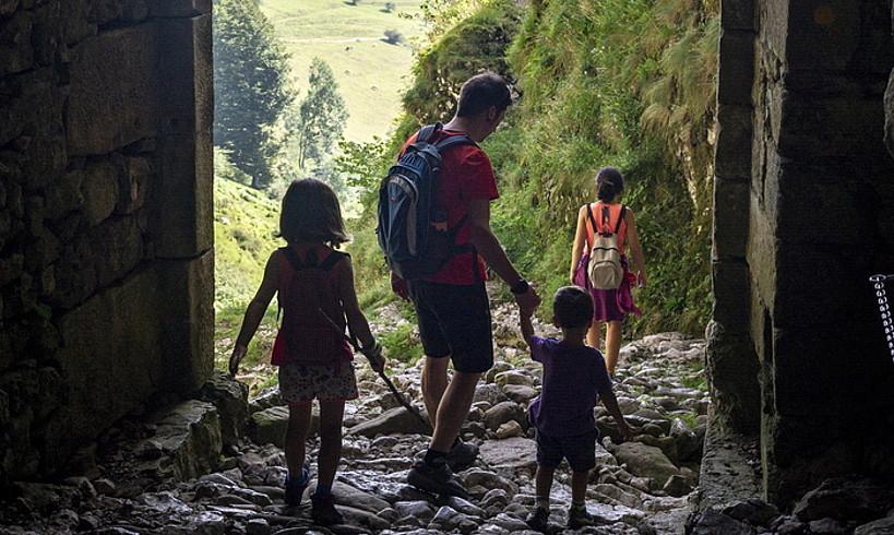 Milaka urteko historia ezkutatzen du Zegamako San Adrian tunelak. ©JAIZKI FONTANEDA / FOKU