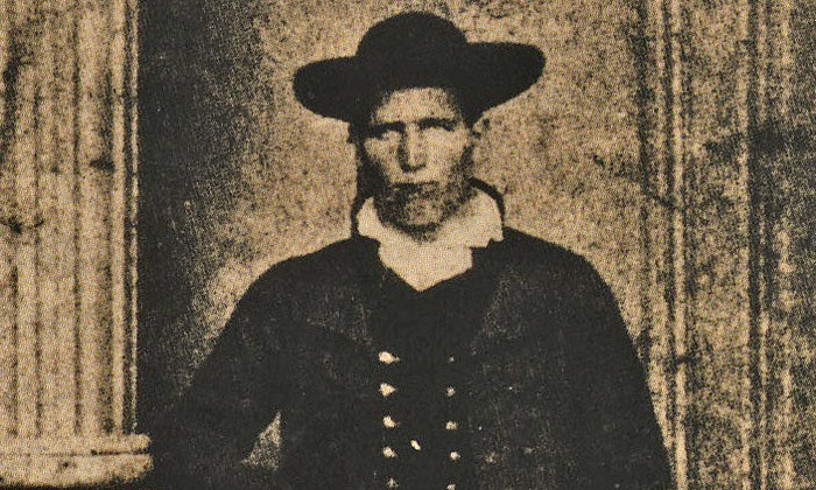 Mariano Mendigatxaren erretratua; Donibane Lohizunen, 1869. urtean.
