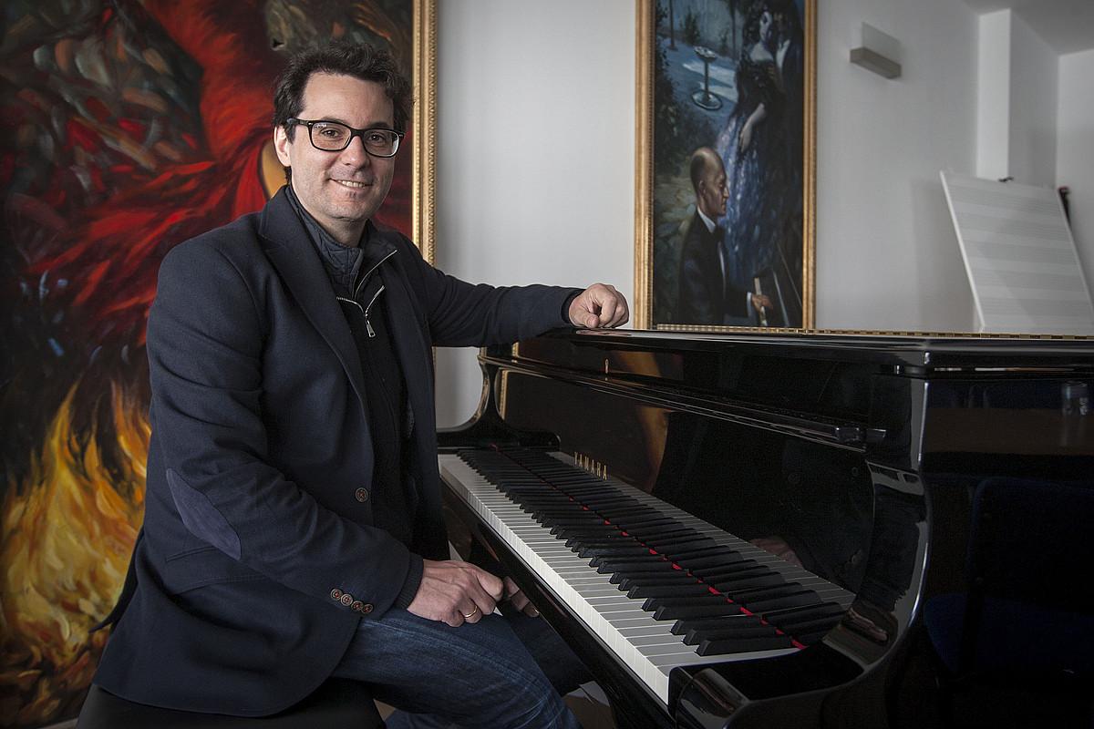 Fernando Velazquez musikagilea. ©ROMAN RIOS / EFE