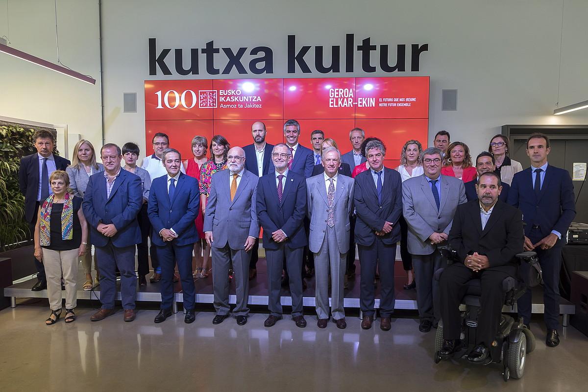 Instituzio eta eragile ugariren babesa jaso du Eusko Ikaskuntzak. ©A. C. / FOKU