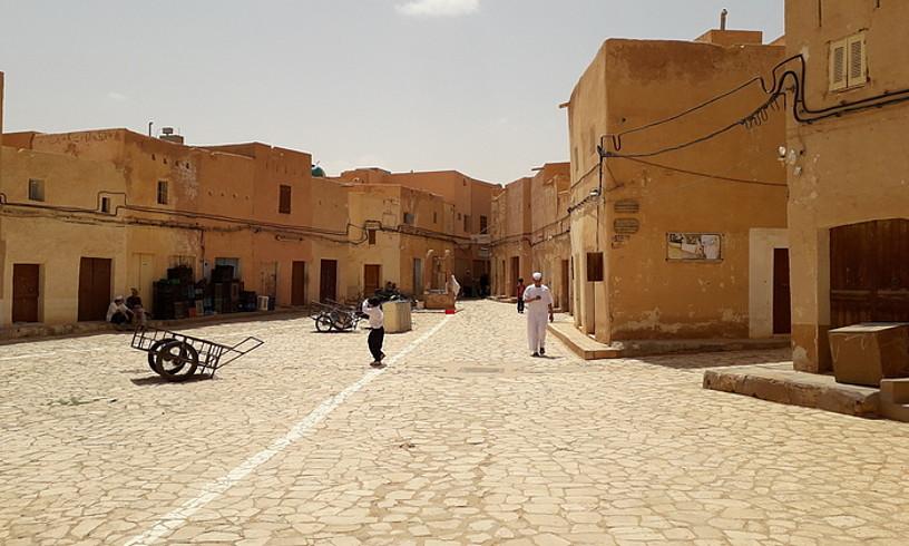 Ghardaia M'zab-eko bost hirietan handiena da. ©URTZI URRUTIKOETXEA