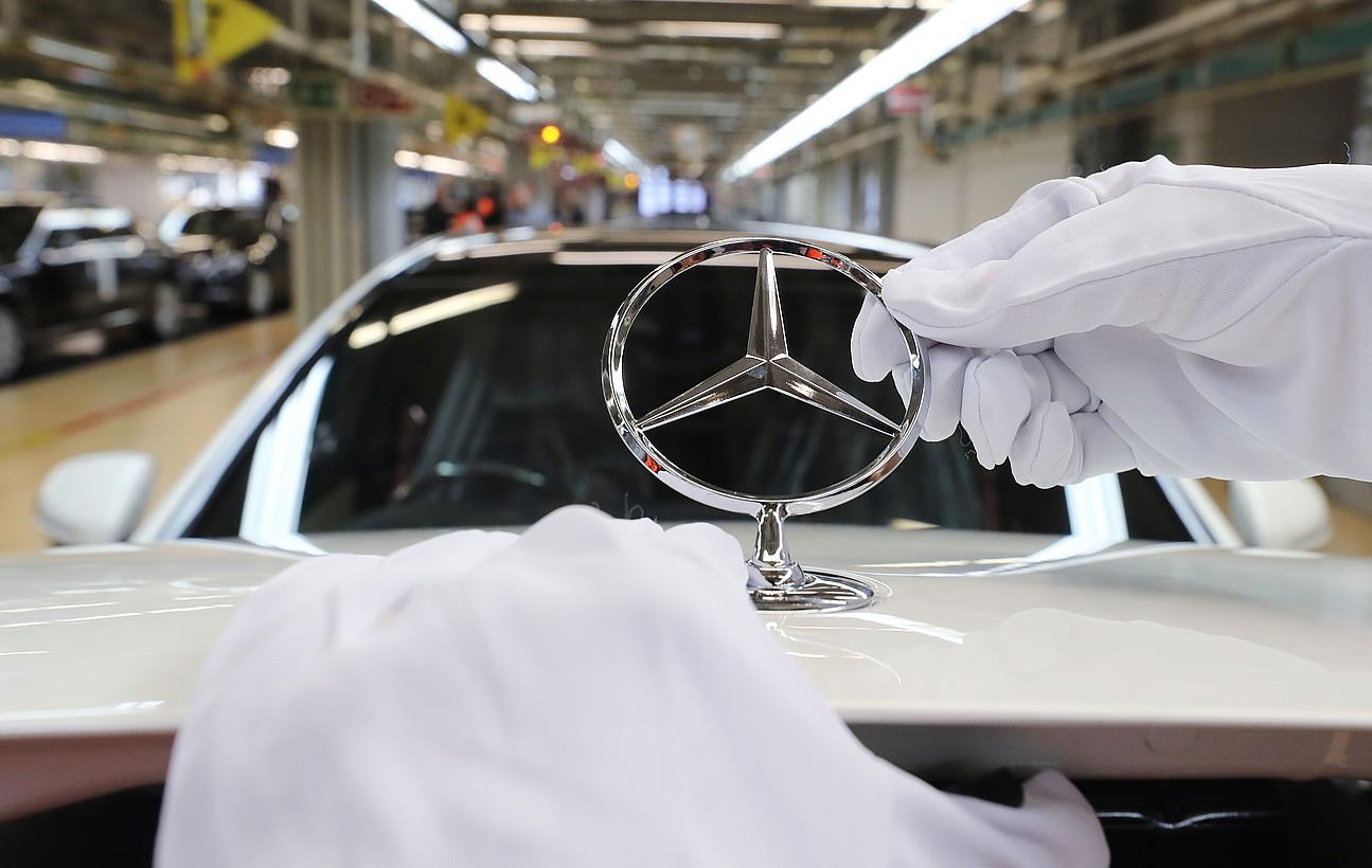 Mercedes Benz etxearen (Daimler taldea) fabrika, Sindelfingen hirian. ©FRANZISKA KRAUFMANN / EFE