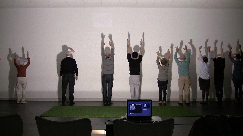 Afagi elkartean alzheimerra dutenekin egindako dantza tailerretako irudiak. ©AI DO PROJECT