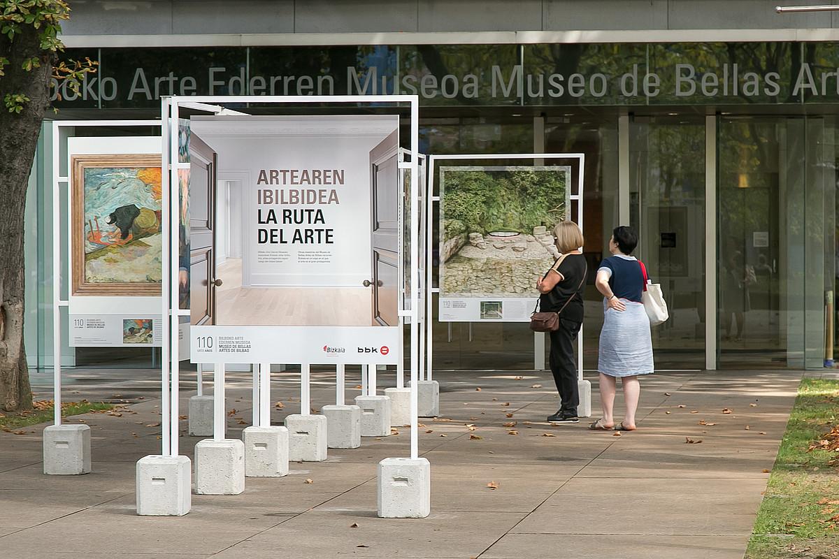 <em>Artearen Ibilbidea</em> erakusketa osatzen dute 40 lanen kopiek. &copy;ARTE EDERREN MUSEOA